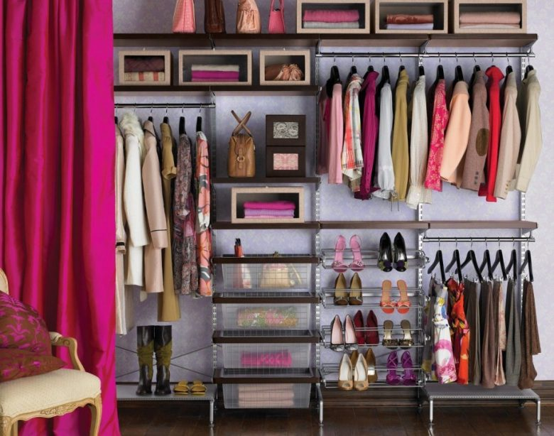 Ideas for organizing and arranging a wardrobe