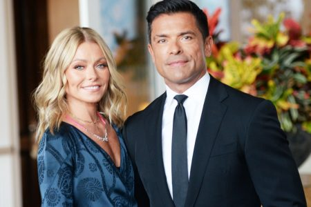 Hello, Kelly Ripa Posted a Photo of Mark Consuelos Staring at Her Butt